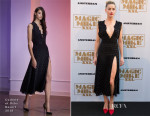 Amber Heard In Cushnie Et Ochs - 'Magic Mike XXL' Amsterdam Premiere