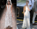 Amber Heard In Valentino - Out in Amsterdam