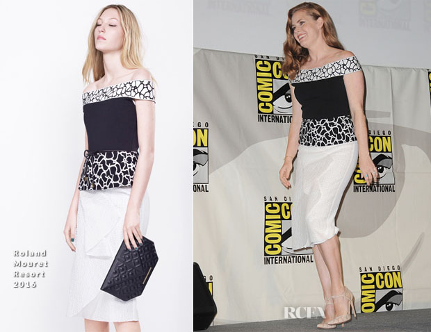 Amy Adams In Roland Mouret - Batman v