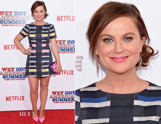 Amy Poehler In Beckley By Melissa - 'Wet Hot American Summer First Day of Camp' Series Premiere