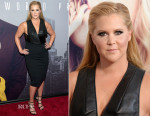 Amy Schumer In Dion Lee - 'Trainwreck' New York Premiere