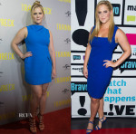Amy Schumer In Roland Mouret & Narciso Rodriguez - 'Trainwreck' Melbourne Premier & Watch What Happens Live