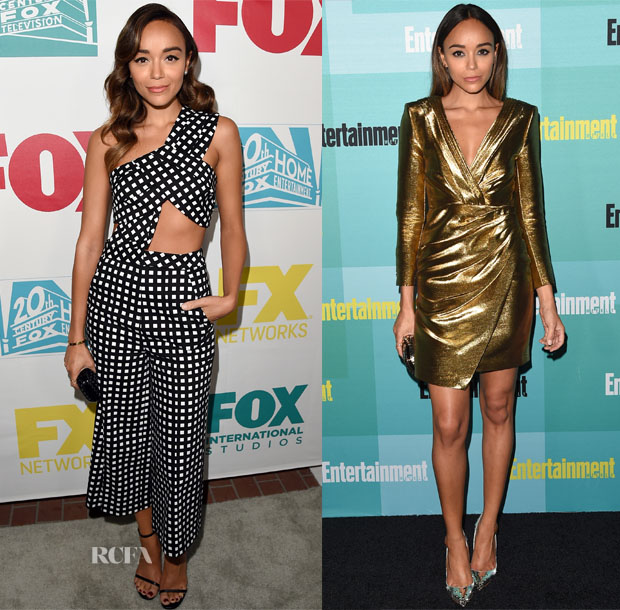 Ashley Madekwe In Self-Portrait & Saint Laurent - 20th Century Fox Party & Entertainment Weekly's Annual Comic-Con Party