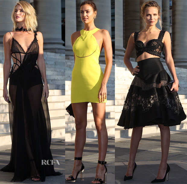 Atelier Versace Fall 2015 Front Row