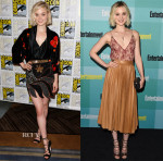 Bella Heathcote In Rodarte & Gucci - 'Pride and Prejudice and Zombies' Panel & Entertainment Weekly's Annual Comic-Con Party