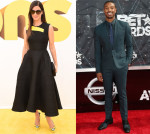 Best Dressed Of The Week - Sandra Bullock In Roksanda & Michael B. Jordan In Sandro