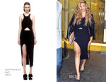 Beyonce Knowles In Self-Portrait - Out In New York City