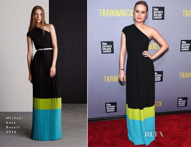 Brie Larson In Michael Kors - 'Trainwreck' New York Premiere