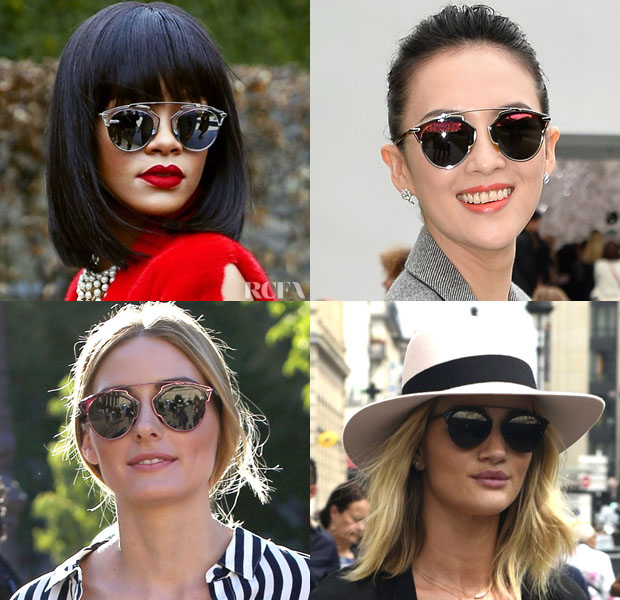 f0098e6f971 Celebrities Love...Christian Dior s  So Real  Sunglasses - Red ...