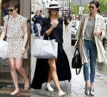 Celebrity Street Style Paris Fashion Week Haute Couture