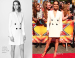 Cheryl Fernandez-Versini In Adam Lippes - X Factor London Auditions