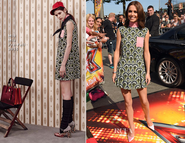 Cheryl Fernandez-Versini In Miu Miu -  X Factor London Auditions