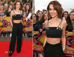 Cheryl Fernandez-Versini In Mugler - X Factor Manchester Auditions