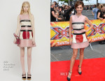 Cheryl Fernandez-Versini In RED Valentino - X Factor London Auditions