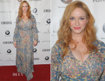 Christina Hendricks In BCBG Max Azria - Los Angeles Confidential Women Of Influence Celebration