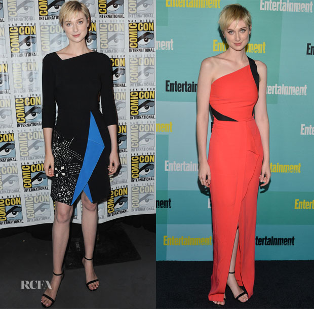 Elizabeth Debicki In Roland Mouret - 'The Man from uncle  Comic-Con Panel & Entertainment Weekly's Annual Comic-Con Party