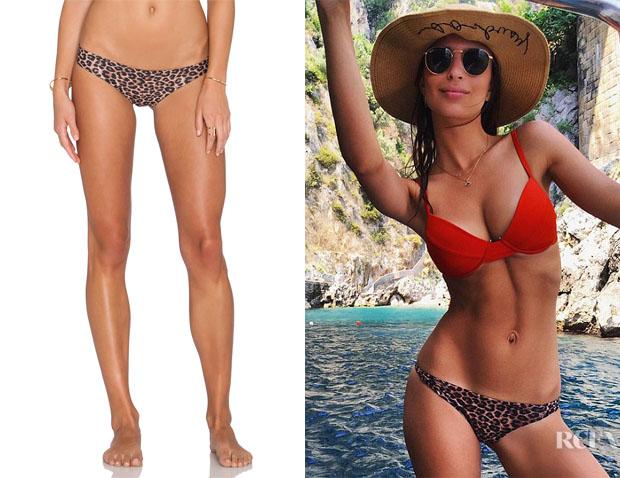 Emily Ratajkowski's Acacia Swimwear 'Ho ' Okipa' Bikini Bottom
