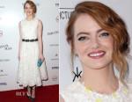 Emma Stone In Giambattista Valli - 'Irrational Man' LA Premiere