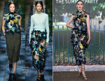 Erin O'Connor In Erdem - The Serpentine Gallery Summer Party