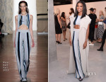 Gabrielle Union In Baja East - New York Men's Fashion Week Kick Off Party