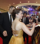 SEOUL, SOUTH KOREA - JULY 02:  Emilia Clarke attends the Seoul Premiere of 'Terminator Genisys' at the Lotte World Tower Mall on July 2, 2015 in Seoul, South Korea.  (Photo by Chung Sung-Jun/Getty Images for Paramount Pictures International)
