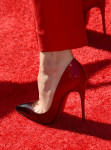 Rachel McAdams' Christian Louboutin Pigalle Follies degrade pumps