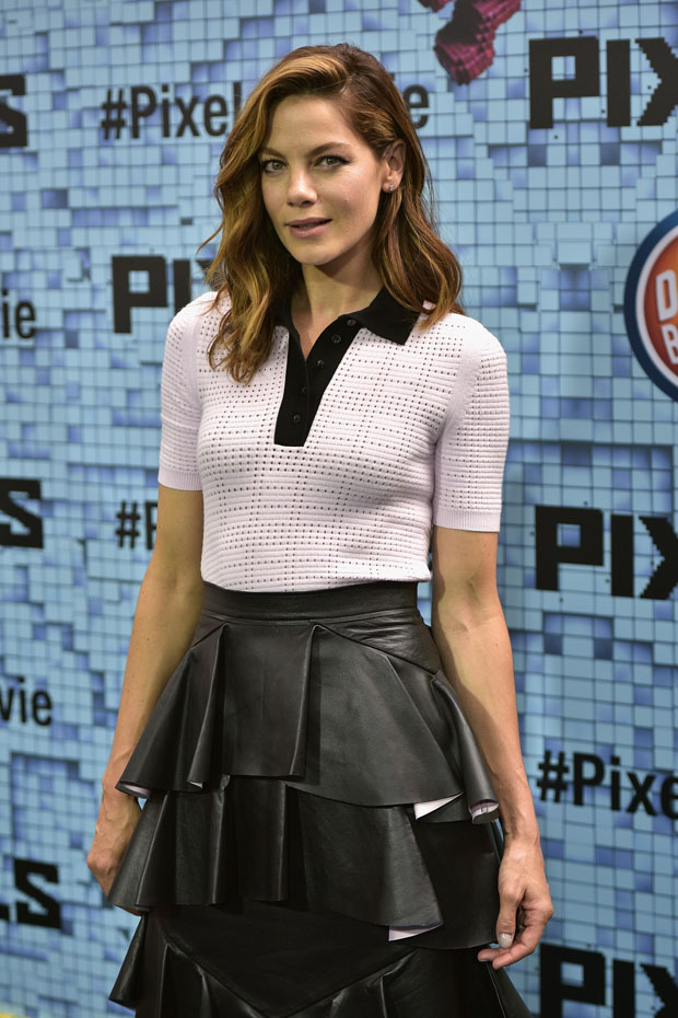 Michelle Monaghan Pixels New York Premiere Red