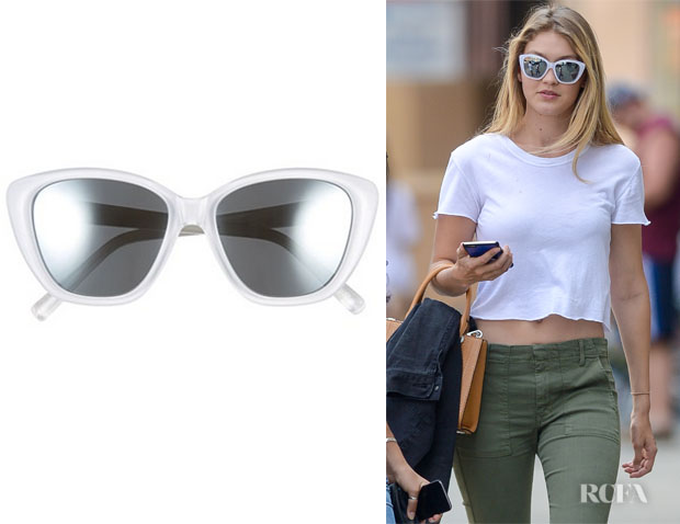 Gigi Hadid's Elizabeth and James 'Smith' Sunglasses