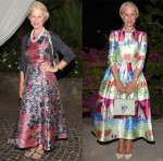 Helen Mirren In L.K. Bennett & Dolce & Gabbana - 2015 Ischia Global Film & Music Fest