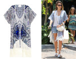 Jessica Alba's Athena Procopiou 'The Girl In The Indigo Jewels' Cover-Up