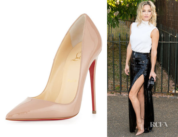 Kate Hudson's Christian Louboutin 'So Kate' Patent Leather Pumps