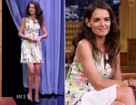 Katie Holmes In Milly - The Tonight Show Starring Jimmy Fallon