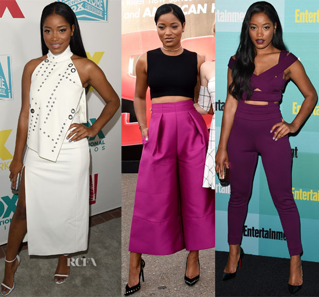 Keke Palmer In Mugler, Edition by Georges Chakra, ALC & Solace London - Comic-Con