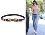 Kendall Jenner's B-Low the Belt Bri 'Bri' Leather Belt