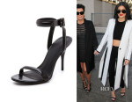 Kylie Jenner's Alexander Wang 'Antonia' Ankle Strap Sandals