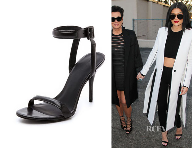 very cheap sale online wholesale online Alexander Wang Ankle Strap Suede Sandals outlet top quality buy cheap many kinds of fojsS