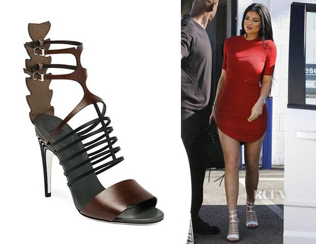 Kylie Jenner's Fendi Cage Sandals