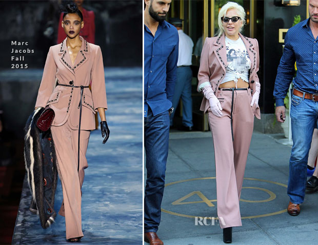 Lady Gaga In Marc Jacobs - Out In New York City
