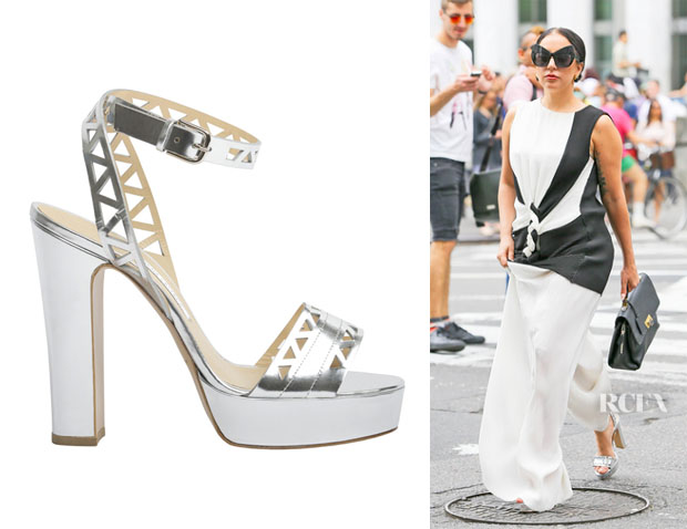 Lady Gaga's Bionda Castana 'Zoe' Sandals