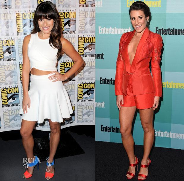Lea Michele In Zimmermann, Tanya Taylor, Jonathan Simkhai & Zuhair Murad - Comic-Con 2015 2