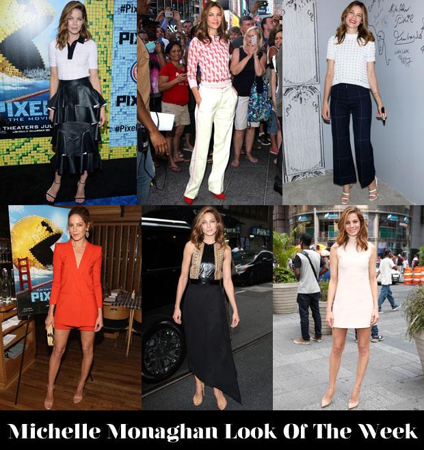 Michelle Monaghan Look Of The Week