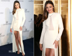 Miranda Kerr In Halston Heritage - Swarovski New Collection Launch