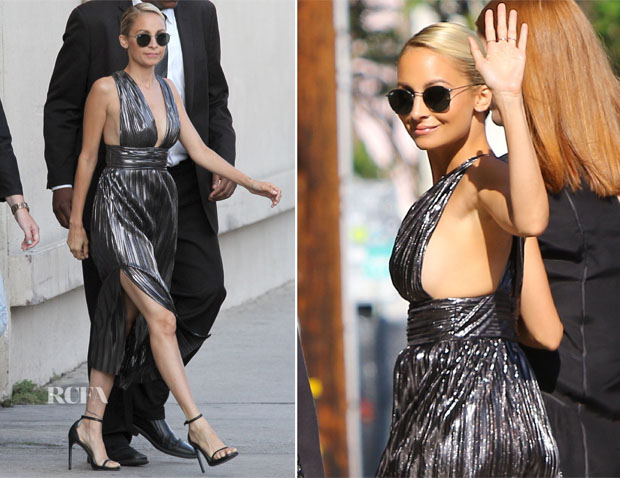 Nicole Richie In Bec & Bridge - Jimmy Kimmel Live
