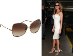 Nicole Scherzinger's Dita 'Bluebird Two' Sunglasses