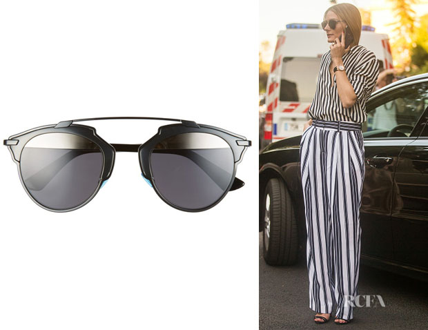 Olivia Palermo's Dior 'So Real' Sunglasses