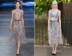 Poppy Delevingne In Christopher Kane - The Serpentine Gallery Summer Party