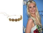 Poppy Delevingne's  Jennifer Behr 'Contessa' Swarovski Crystal-Embellished Gold-Plated Headband