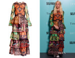 Poppy Delevingne's Valentino Printed Cotton Dress