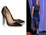 Rachel McAdams' Christian Louboutin 'So Kate' Leather Pumps
