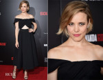 Rachel McAdams In Self-Portrait - 'Southpaw' New York Premiere